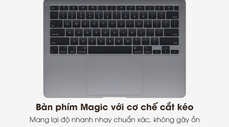 Laptop Apple Macbook Air 2020 i5 (Z0YJ) | Magic Keyboard