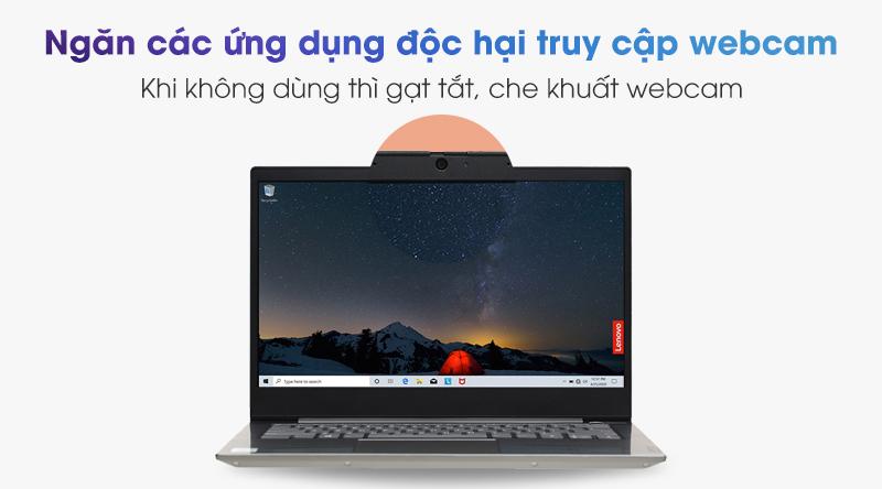 Lenovo ThinkBook 14 IIL i5 | Khóa camera vật lý ThinkShutter
