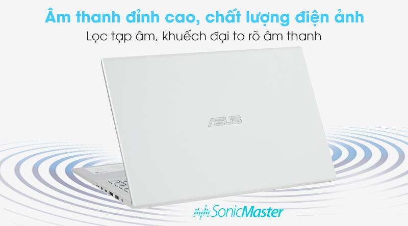 Asus VivoBook A512FA i3 (EJ2033T) khuếch đại âm thanh to to rõ