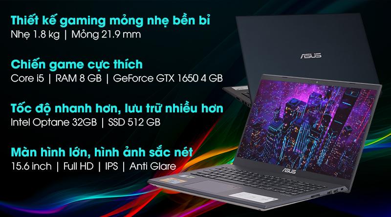 Asus VivoBook Gaming F571GT i5 9300H/120Hz (AL851T)