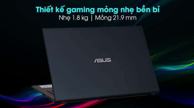 Asus F571GT i5 (AL851T) - Thiết kế