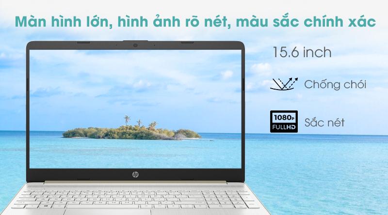 Laptop HP 15s du1076TX i5 | Màn hình viền mỏng, hiển thị sống động