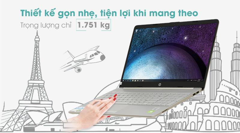 Laptop HP 15s du1076TX i5 (1R8E2PA) thuộc dòng laptop HP phổ thông