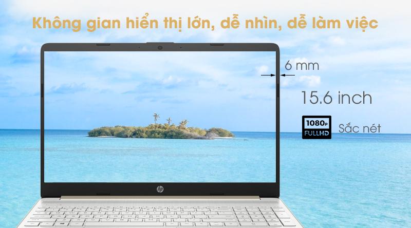 Laptop HP 15s   Màn hình viền siêu mỏng