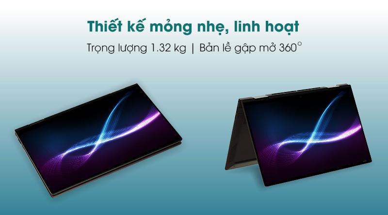 HP Envy X360 13 (171N1PA) - Thiết kế
