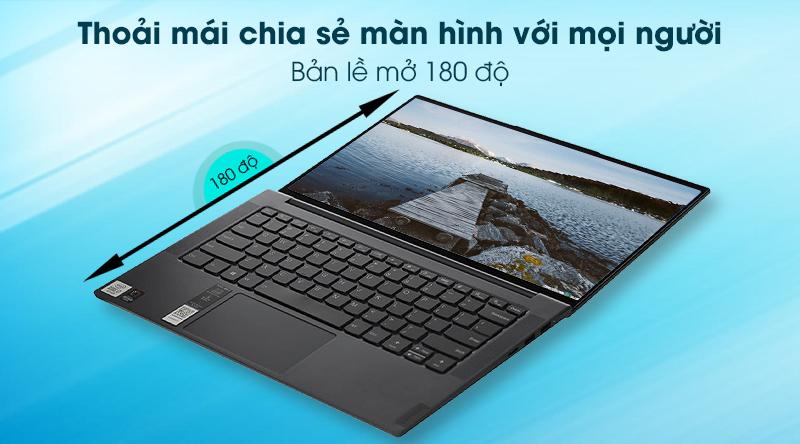 Laptop Lenovo Yoga Slim 7 14IIL05 i7 1065G7(82A100FKVN) - Bàn phím