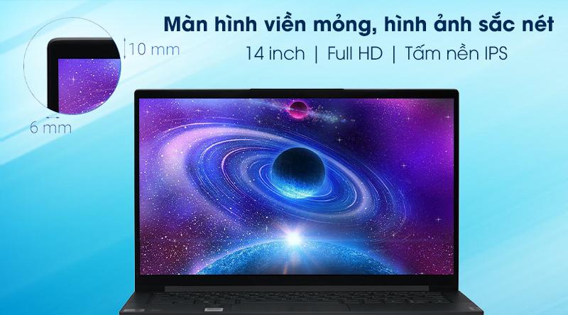 Laptop Lenovo Yoga Slim 7 14IIL05 i7 1065G7(82A100FKVN) - Màn hình