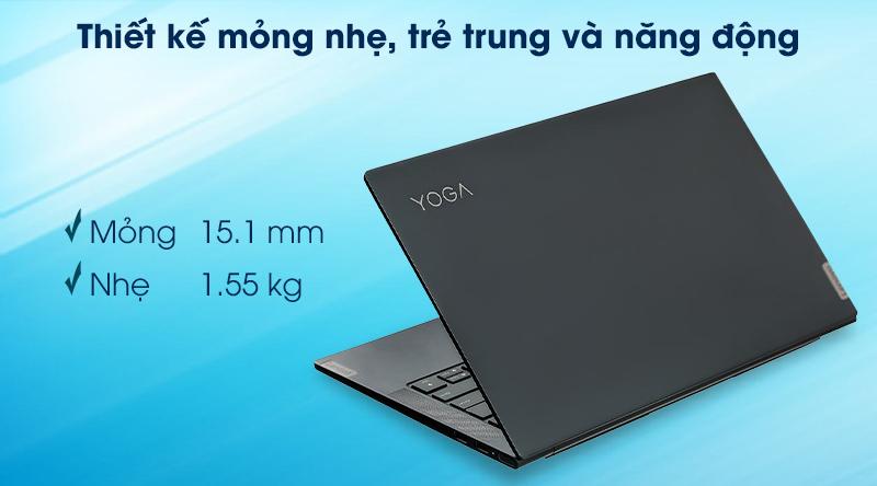Laptop Lenovo Yoga Slim 7 14IIL05 i7 1065G7(82A100FKVN) - Bản lề