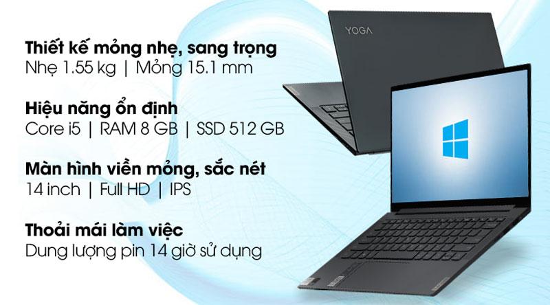 Lenovo Yoga Slim 7 14IIL05 i5 1035G4 (82A1007UVN)