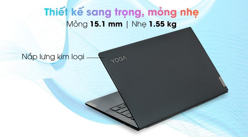 Lenovo Yoga Slim 7 14IIL05 i5 1035G4 (82A1007UVN) - Thiết kế