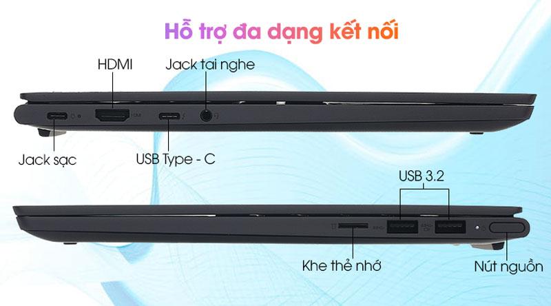 Lenovo Yoga Slim 7 14IIL05 i5 1035G4 (82A1007UVN) - Kết nối