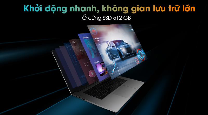 HUAWEI MateBook D 15 R5 (Boh-WAQ9R) - SSD