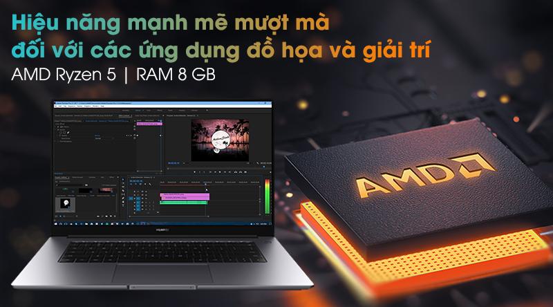 HUAWEI MateBook D 15 R5 (Boh-WAQ9R) - Cấu hình