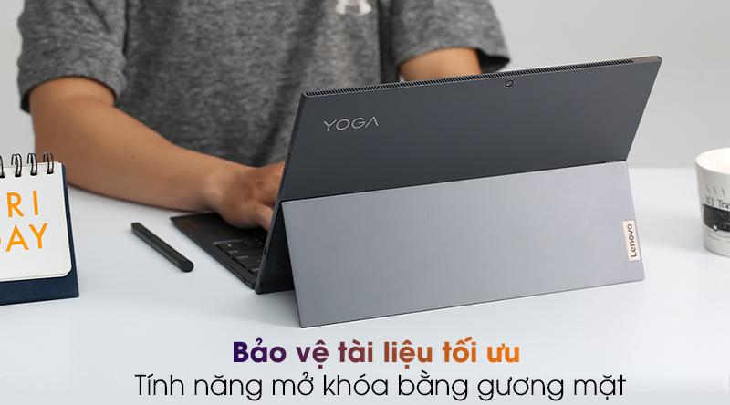 laptop Lenovo Yoga Duet 7 13IML05 i5 (82AS007BVN) - Mở khóa gương mặt