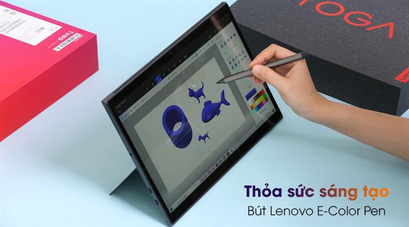 laptop Lenovo Yoga Duet 7 13IML05 i5 (82AS007BVN) - Bút