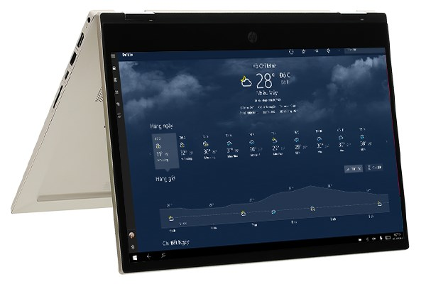 Laptop HP Pavilion x360 14 dw0063TU i7 1065G7/8GB/512GGB/Touch/Pen/Office 2019/Win10 (19D54PA)