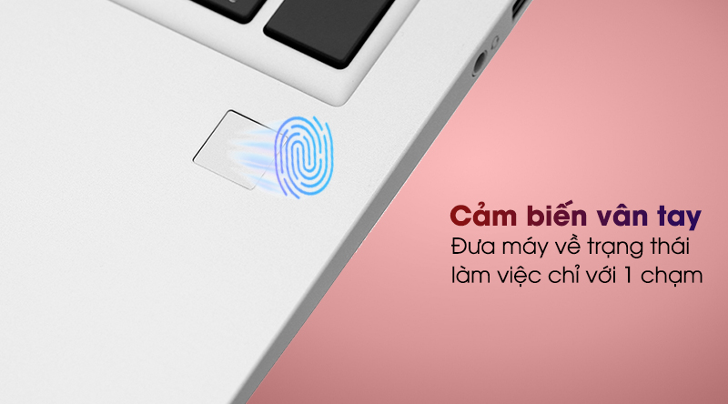 HP ProBook 455 G7 R7 (1A1B1PA) - Vân tay