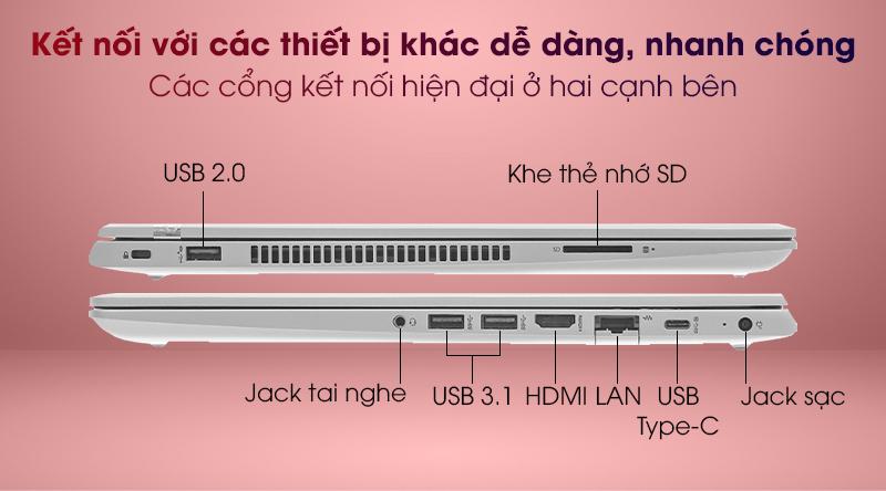 HP ProBook 455 G7 R7 (1A1B1PA) - Cổng kết nối