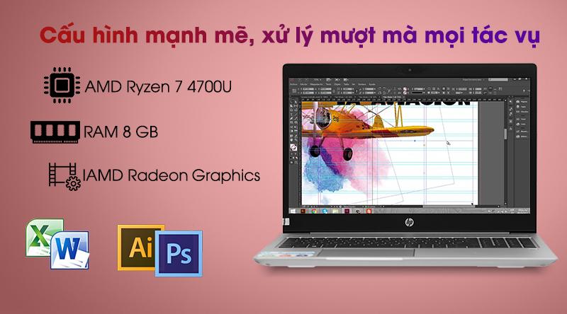 HP ProBook 455 G7 R7 (1A1B1PA) - Cấu hình