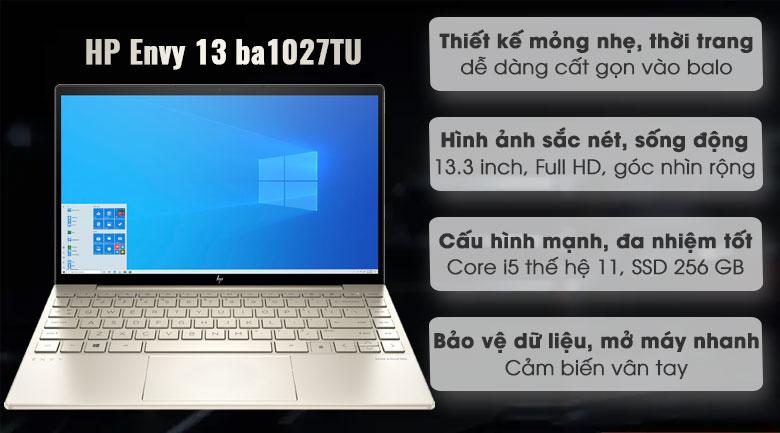 HP Envy 13 ba1027TU i5 1135G7 (2K0B1PA)