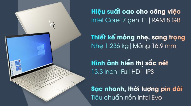 HP Envy 13 ba1030TU i7 1165G7 (2K0B6PA)