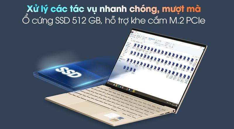 HP Envy 13 ba1030TU i7 1165G7 (2K0B6PA) - SSD