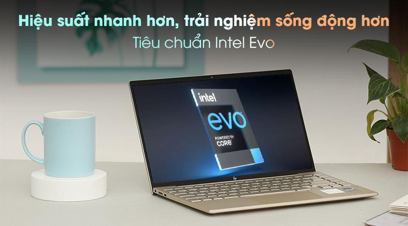 Laptop HP Envy 13 ba1030TU i7 1165G7 - Intel Evo