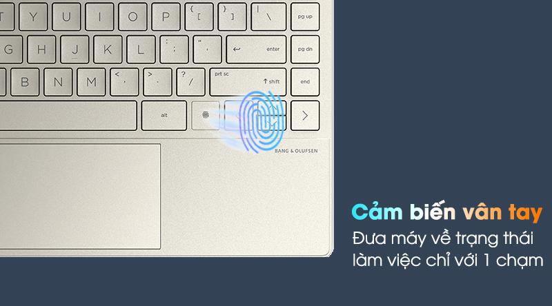 HP Envy 13 ba1030TU i7 (2K0B6PA) - Vân tay