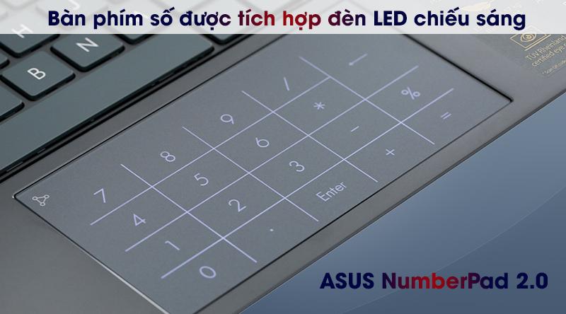 Asus ZenBook UX425EA i5 (BM069T) - NumberPad 2.0
