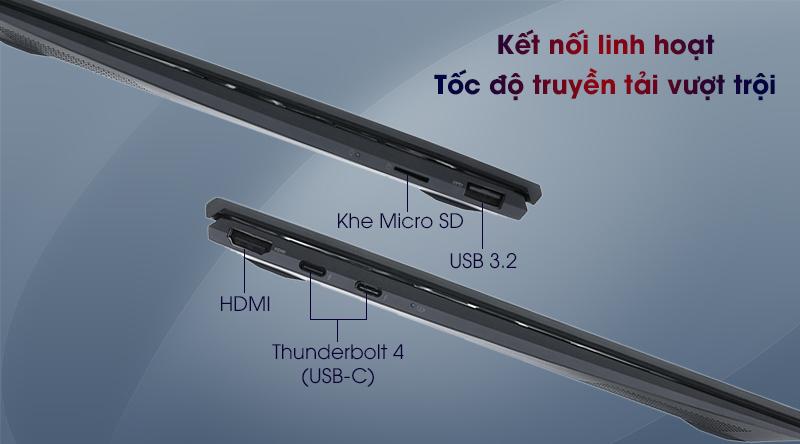 Asus ZenBook UX425EA i5 (BM069T) - Cổng kết nối