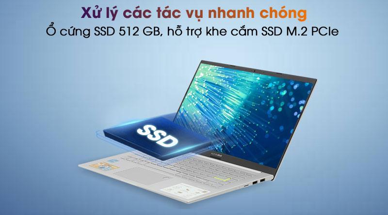 Laptop Asus VivoBook A415EA i3 - SSD