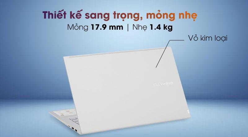 Laptop Asus VivoBook A415EA i3 - Thiết kế