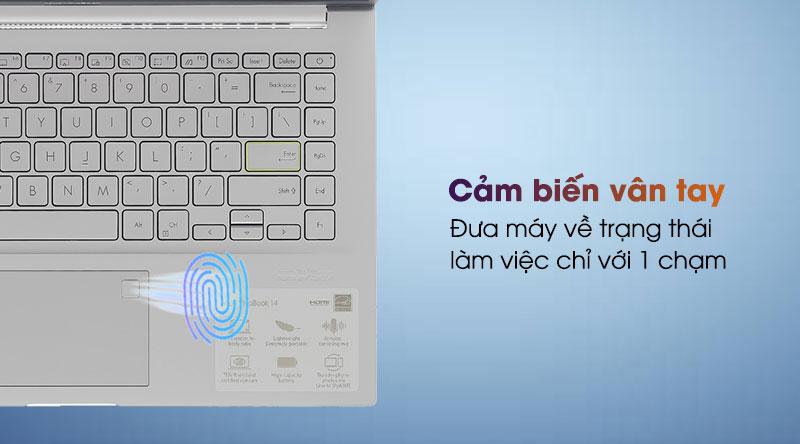 Laptop Asus VivoBook A415EA i3 - Vân tay