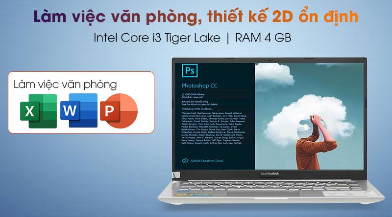 Laptop Asus VivoBook A415EA i3 (EB317T) - Cấu hình