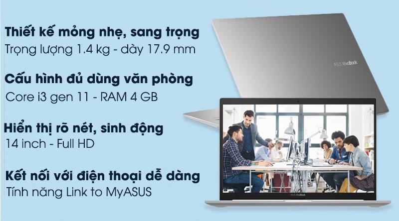 Asus VivoBook A415EA i3 1115G4 (EB353T)