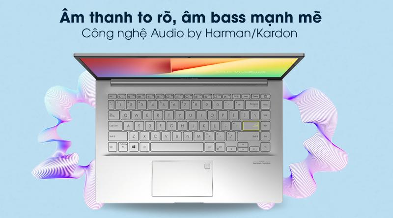 Laptop Asus VivoBook A415EA i3 (EB353T) - Âm thanh to rõ