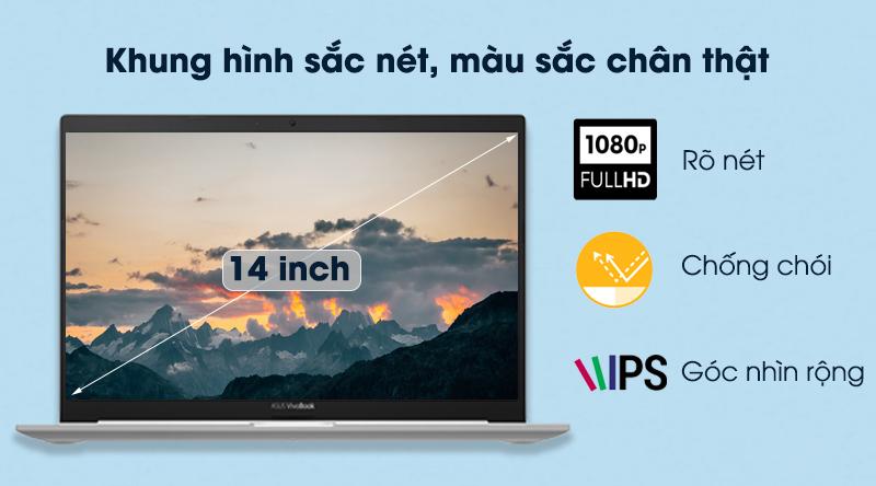 Laptop Asus VivoBook A415EA i3 (EB353T) - Màn hình 14 inch Full HD