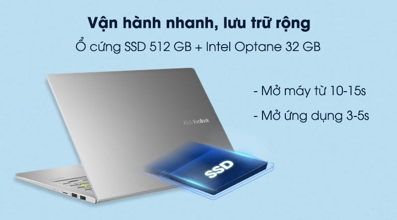 Laptop Asus VivoBook A415EA i3 (EB353T) - Ổ cứng SSD