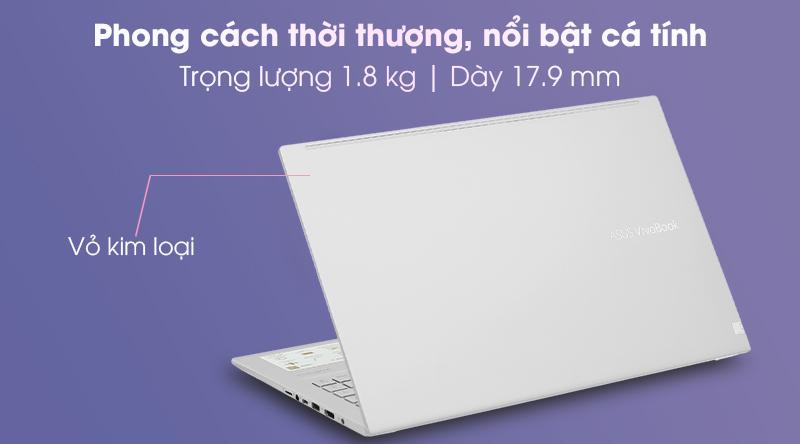 Laptop Asus VivoBook A515EA i3 (BQ497T) Thiết kế