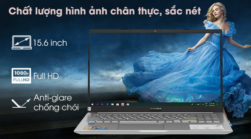 Laptop Asus VivoBook A515EA i3 (BQ497T) - Màn hình