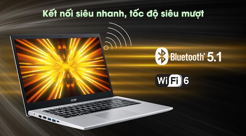 Laptop Acer Aspire 5 A514 54 33WY i3 (NX.A23SV.00J) - Kết nối không dây