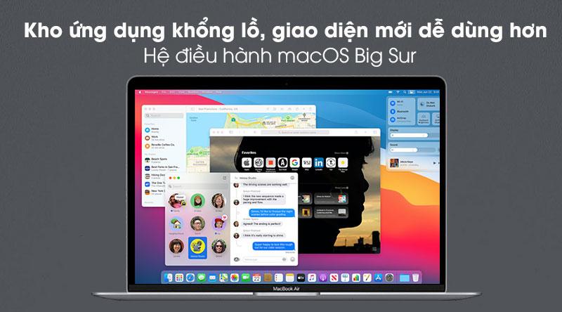 Apple Macbook Air M1 (MGN73SA/A) - Hệ điều hành