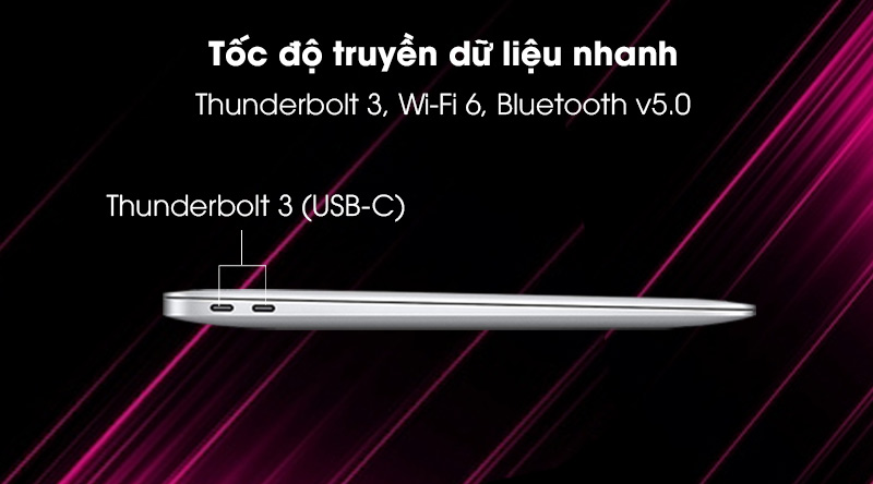 Apple MacBook Air 2020 (MGN93SA/A) - Cổng kết nối