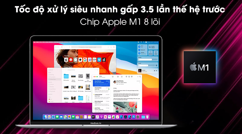 Apple MacBook Air 2020 (MGN93SA/A) - M1