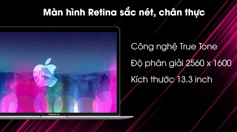 Apple MacBook Air 2020 (MGN93SA/A) - Màn hình