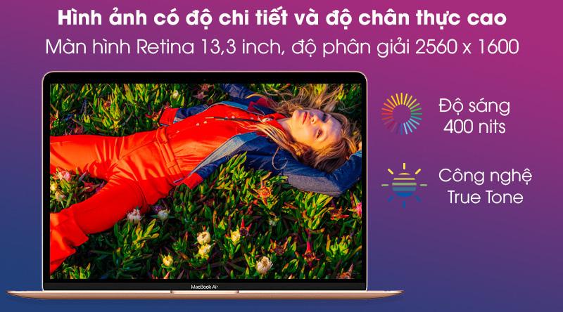 MacBook Air M1 2020 Gold (MGND3SA/A) - Màn hình