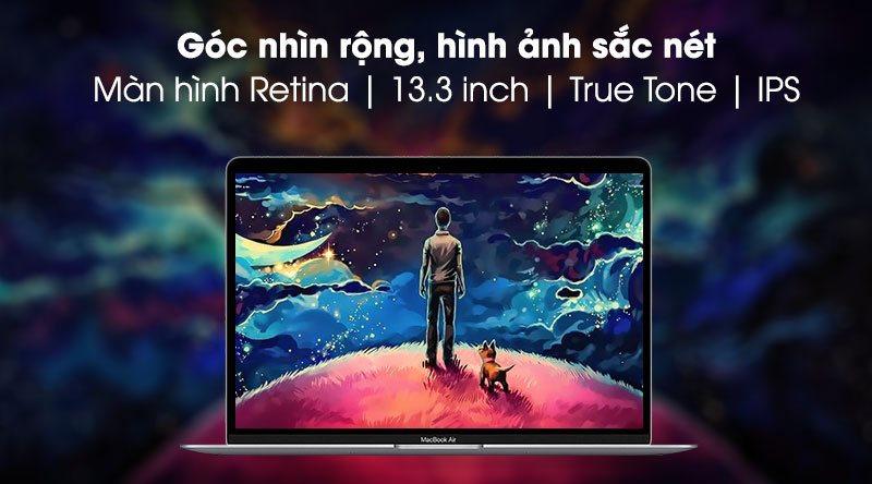 Apple Macbook Air M1 (MGN73SA/A) - Màn hình
