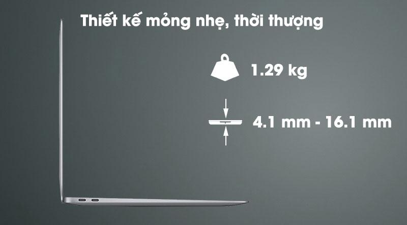 Apple Macbook Air M1 (MGN73SA/A) - Thiết kế