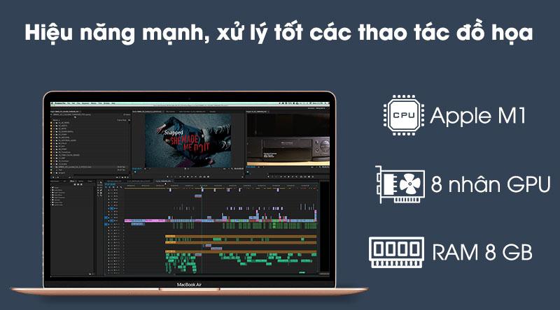 Apple Macbook Air 2020 (MGNE3SA/A) - Hiệu năng