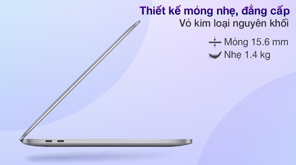 Apple MacBook Pro M1 2020 (MYD82SA/A)-Thiết kế